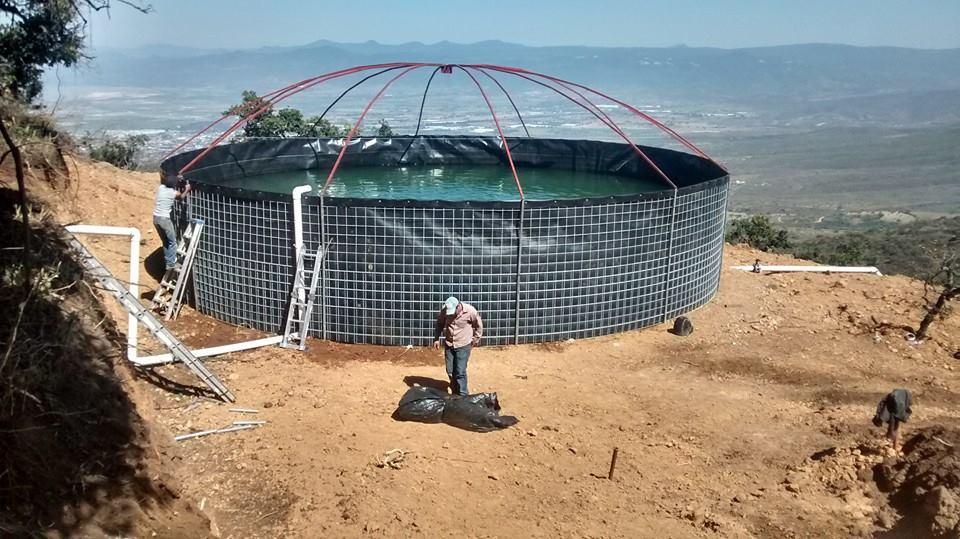 Membranas de zapotlan inicio for Construccion de estanques circulares para tilapia